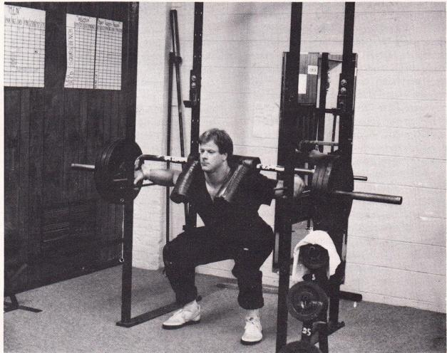 Saftey Squat bar 1985