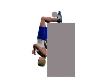 Many believe wrongly this is a test of abdominal strength.