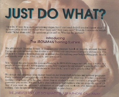 IM Feb 92 Just do what ad pg 65